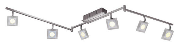 LED-STRAHLER - Chromfarben, Design, Kunststoff/Metall (180/8/22cm) - Novel