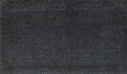 FUßMATTE 70/120 cm Uni Anthrazit - Anthrazit, Basics, Kunststoff/Textil (70/120cm) - Esposa