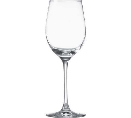 KOZAREC ZA BELO VINO CIAO+ - prozorna, Konvencionalno, steklo (21cm) - Leonardo
