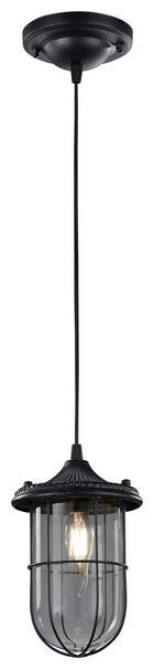 HÄNGELEUCHTE - Schwarz, LIFESTYLE, Metall (14,5/150cm)
