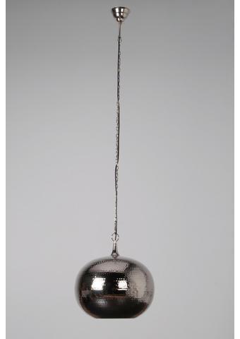 HÄNGELEUCHTE - Nickelfarben, LIFESTYLE, Metall (35/35cm)