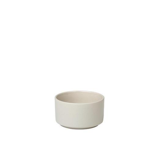 SNACKSCHALE Steingut Keramik  - Beige, Basics, Keramik (8,5/5cm) - Blomus