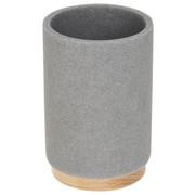 KELÍMEK - světle šedá/hnědá, Basics, dřevo/umělá hmota (6,9/10,2/6,9cm) - Celina