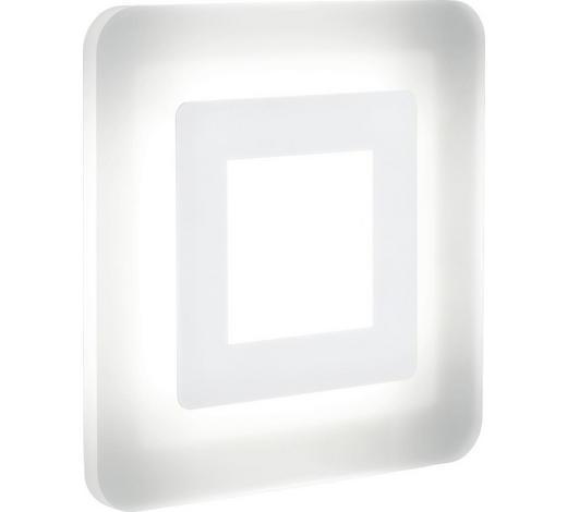 LED-DECKENLEUCHTE - Weiß, Design, Metall (32,5/32,5/7cm) - Helestra