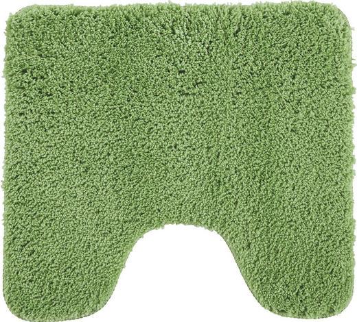 WC PŘEDLOŽKA, 45/50 cm, zelená - zelená, Basics, textil/přírodní materiály (45/50cm) - Esposa