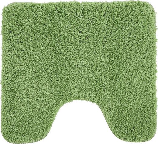 Wc-vorleger in Grün 45/50 cm - Grün, Basics, Weitere Naturmaterialien/Textil (45/50cm) - Esposa