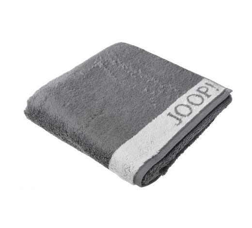 DUSCHTUCH 80/150 cm  - Weiß/Grau, Design, Textil (80/150cm) - Joop!