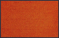 FUßMATTE 40/60 cm Uni Orange  - Orange, Basics, Kunststoff/Textil (40/60cm) - Esposa