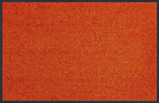 FUßMATTE 50/75 cm Uni Orange - Orange, Basics, Kunststoff/Textil (50/75cm) - Esposa
