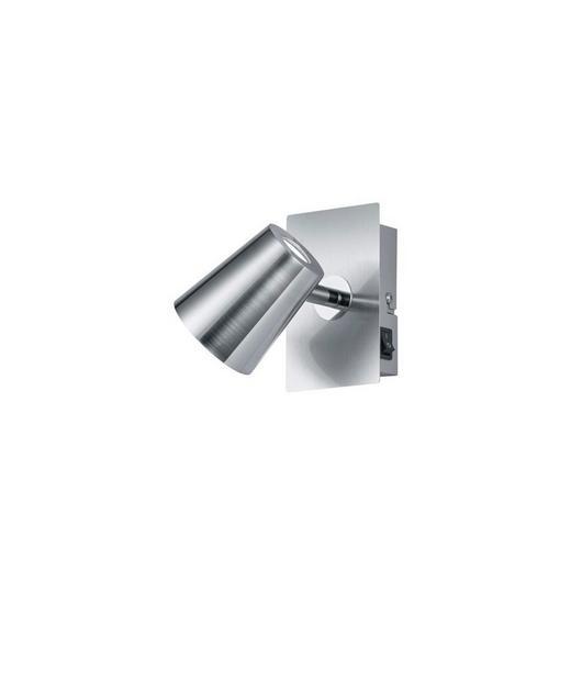 LED-STRAHLER - Nickelfarben, Design, Kunststoff/Metall (12/7,5/16cm)