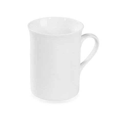 HRNEK NA KÁVU, porcelán - bílá, Basics, keramika (7,8/9,5cm) - Homeware