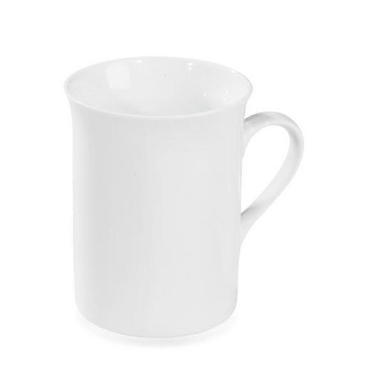 KAFFEEBECHER 250 ml - Weiß, Basics, Keramik (7,8/9,5cm) - Homeware