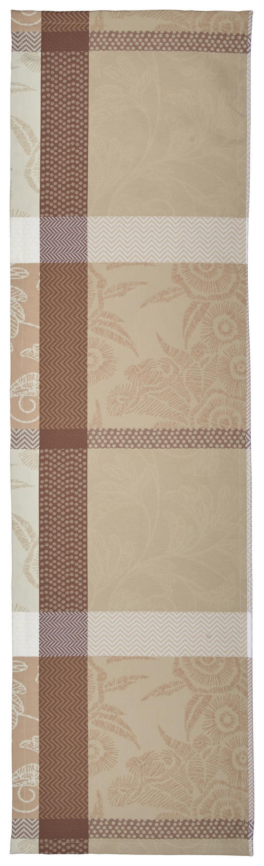 TISCHLÄUFER Textil Taupe 40/140 cm - Taupe, KONVENTIONELL, Textil (40/140cm) - Esposa