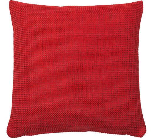 KISSENHÜLLE Rot 50/50 cm - Rot, Design, Textil (50/50cm)