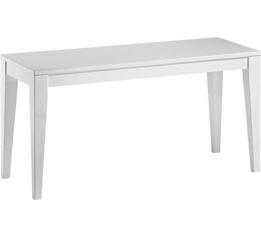 SITZBANK Weiß  - Weiß, Design, Holzwerkstoff (90/48/35cm) - Xora