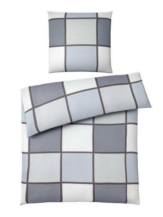 BETTWÄSCHE Makosatin Grau 155/220 cm - Grau, Basics, Textil (155/220cm) - Novel