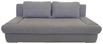 SCHLAFSOFA in Textil Grau  - Chromfarben/Grau, KONVENTIONELL, Textil/Metall (205/83/98cm) - Venda