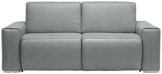 SCHLAFSOFA in Blau, Silberfarben Textil - Chromfarben/Blau, Design, Textil/Metall (210/90/102cm) - DIETER KNOLL
