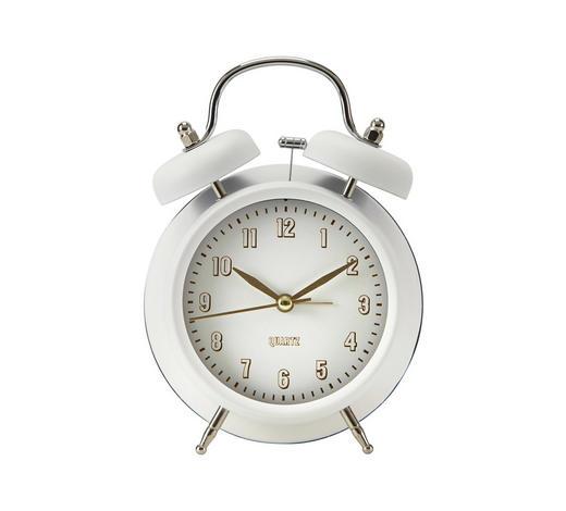 WECKER 11/17/5 cm   - Weiß, Basics, Metall (11/17/5cm) - Boxxx