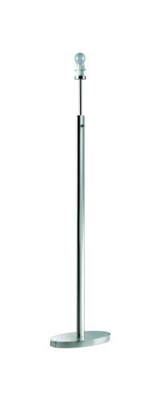 STEHLEUCHTE - Chromfarben/Nickelfarben, KONVENTIONELL, Metall (37/22/137,7cm)