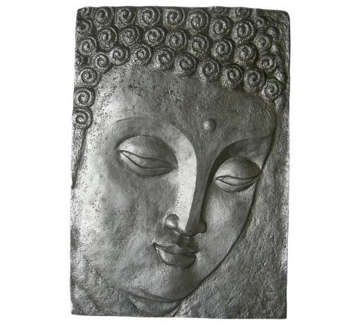 Buddha BILD  - Multicolor, LIFESTYLE, Kunststoff (70/101cm) - Monee