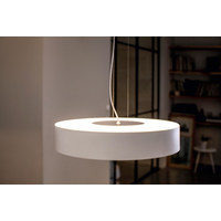 LED-Hängeleuchte HUE FAIR - Weiß, Design, Metall (44,4/12,0/44,4cm) - Philips