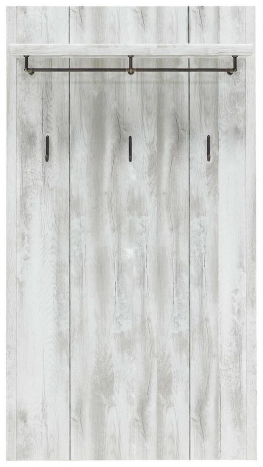 GARDEROBENPANEEL Weiß - Weiß, LIFESTYLE, Metall (78/145/28cm)