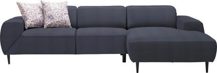 WOHNLANDSCHAFT in Textil Blau  - Blau/Multicolor, Basics, Textil/Metall (292/170cm) - Dieter Knoll