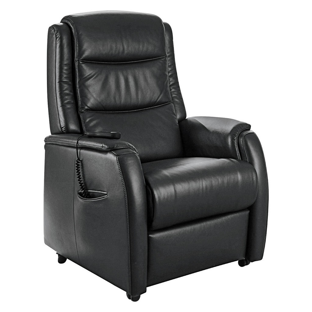 FERNSEHSESSEL Echtleder Dunkelbraun | Wohnzimmer > Sessel > Fernsehsessel | Valdera