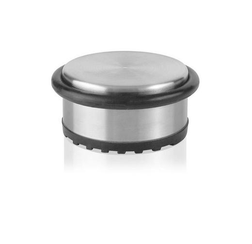TÜRSTOPPER Metall - Silberfarben, Metall (10/10/4,5cm) - JUSTINUS