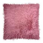 TIBETLAMM KISSENHÜLLE Altrosa 40/40 cm - Altrosa, Trend, Textil (40/40cm)