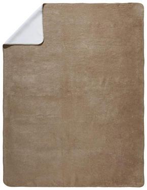 PLÄD - vit/naturfärgad, Basics, textil (150/200cm) - Novel