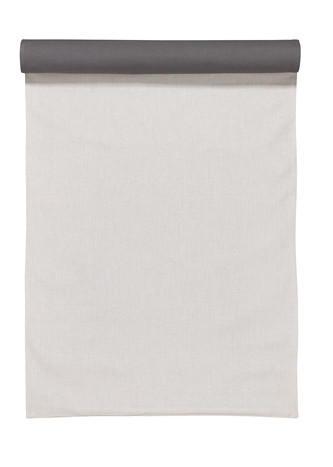 TISCHLÄUFER 45/150 cm - Hellgrau, Design, Textil (45/150cm) - LINUM