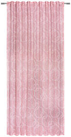 KONČANA ZAVESA MARINA - roza, Design, tekstil (140/245/cm) - Esposa