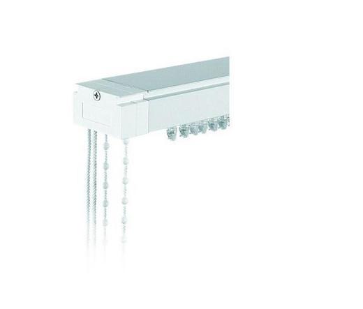 VERTIKALSCHIENE 200 cm - Weiß, Basics, Metall (200cm) - Homeware