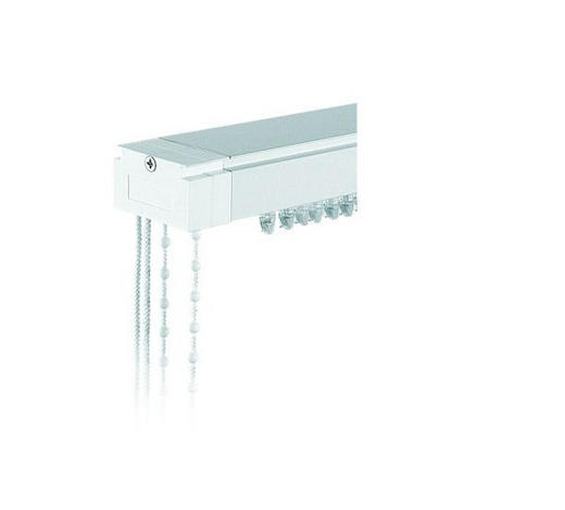 VERTIKALSCHIENE 100 cm - Weiß, Basics, Metall (100cm) - Homeware