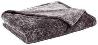 WOHNDECKE 150/200 cm Anthrazit - Anthrazit, KONVENTIONELL, Textil (150/200cm) - Novel