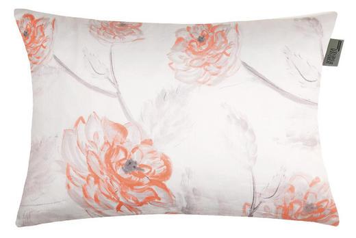 KISSENHÜLLE Naturfarben, Orange 38/58 cm - Naturfarben/Orange, Textil (38/58cm) - Schöner Wohnen