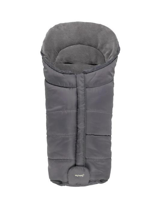 Südpol  FUßSACK - Schwarz, Basics, Textil (47/92/9cm) - My Baby Lou