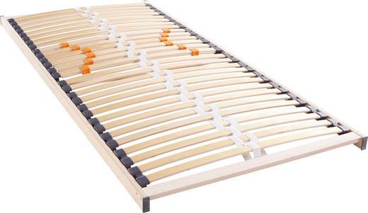 LATTENROST 140/200/ cm - Birkefarben, Basics, Holz (140/200/cm) - Hom`in