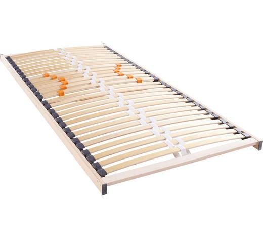 LATTENROST 80/200 cm - Birkefarben, Basics, Holz (80/200cm) - Hom`in