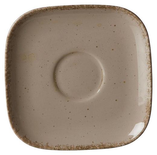 UNTERTASSE - Grau, Trend, Keramik (14/14/2cm) - Ritzenhoff Breker
