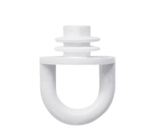 FESTSTELLER - Weiß, Basics, Kunststoff (1.4/1.8cm) - Homeware