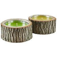 Windlicht - Naturfarben, Lifestyle, Holz (21/10cm) - Ambia Home