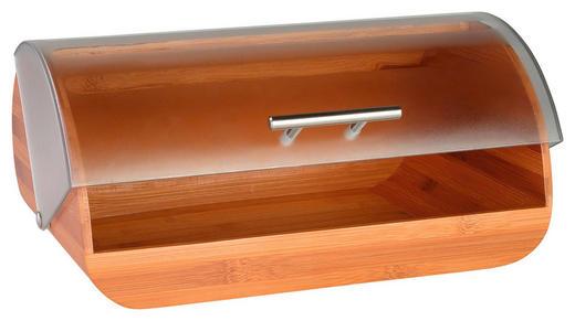 BROTBOX - Hellbraun/Transparent, Basics, Holz/Kunststoff (38/27/19cm) - Justinus