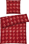 BETTWÄSCHE Mikrofaser Rot 135/200 cm - Rot, Design, Textil (135/200cm) - Esposa