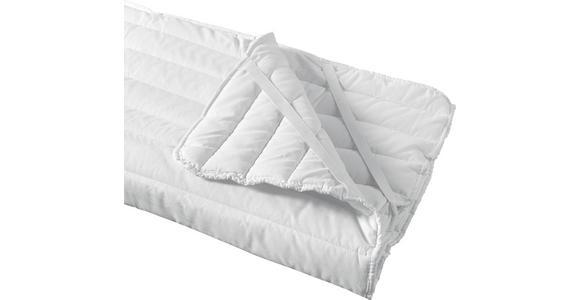 Unterbett Ramona 95x195 cm - Weiß, KONVENTIONELL, Textil (95/195cm) - Primatex