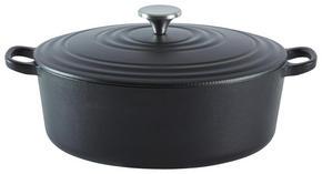STEKGRYTA - svart, Klassisk, metall (29/22,7cm) - Homeware Profession.
