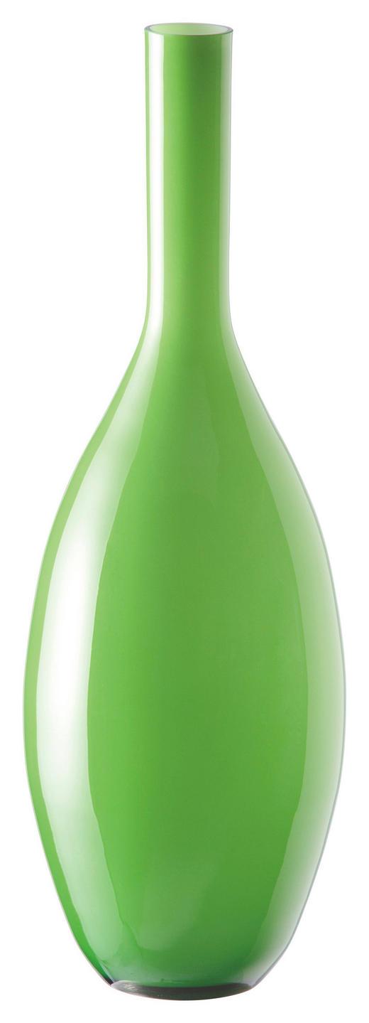 VASE - Grün, Basics, Glas (18/50cm) - Leonardo