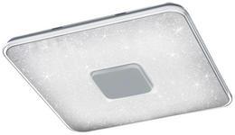 LED-DECKENLEUCHTE - Weiß, Design, Kunststoff (52,5/6,5/52,5cm) - Novel